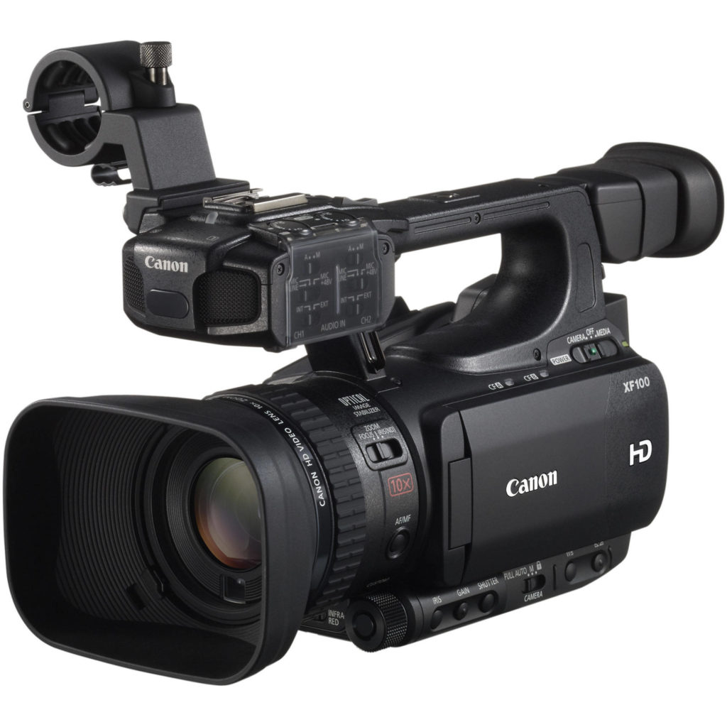XF100 Full-HD camera